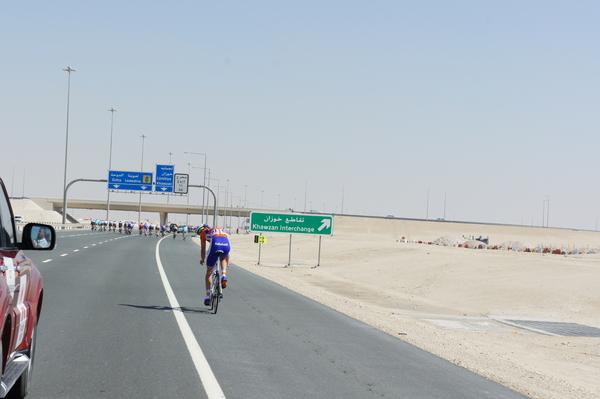 Hoe sterk is de eenzame fietser...