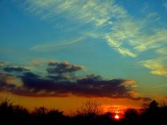 Zonsondergang . #buienradar