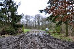 de kletsnatte waarheid op woensdagochtend in zuidoost Brabant #buienradar