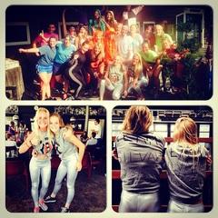 Rockingthursday❌❌❌!! #AHBC #team #silvah #grijs #zilver #thebeach #aalsmeer #beachtennis #sportief #zon #fun #donderdag #