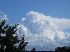 Fraaie  stapel wolken wordt  mooie  bloemkool. #buienradar