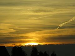 Nederweert, zaterdag 22 november 2014. Avond/zonsondergang.  #buienradar