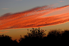 Mooie  beelden op  18 Oktober  om 7 uur  s,avonds. #buienradar