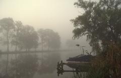 Het was behoorlijk mistig,op deze Zondag 23 Oktober in de Gouds/Reeuwijkse regio! #buienradar