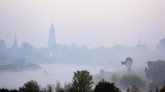 Zutphen in de mist met maar 5 graden. #buienradar