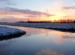 Sneeuwlaagje en pastekleuren vanmorgen #buienradar