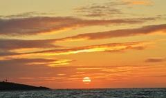Zonsondergang Den Helder (26-9-2014) #Zon #buienradar