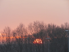 28-03-6.45.De  zon  komt  op. #buienradar