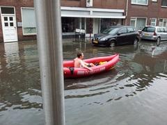 Vanmorgen 11:10 uur in de Hoefstraat Tilburg :) #buienradar