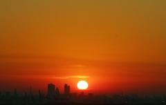 06.17 uur Sunrise in de regio Rotterdam... #buienradar