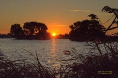 De zonsopkomst was vrij helder op Zondag 25 September,in de Gouds/Reeuwijkse regio! #buienradar