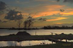 Een overzichts foto van de Elfhoevenplas Op 3 Februari,in de Gouds/Reeuwijkse regio! #buienradar