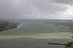 #zon #regen #wind #hagel op de rivier de #Oudemaas regio #Rijnmond (ZH) #buienradar
