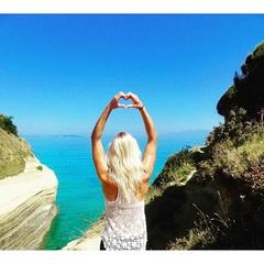❤️☀️ #Rhodos #eiland #zon #zee #uitzicht #blond