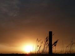 Prachtige zonsondergang  #buienradar