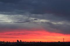 Het was mooi vanmorgen boven Rotterdam, om 6.35 uur... #buienradar
