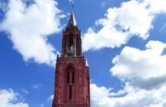 De St. Jans toren van Maastricht in de wolken !! #buienradar