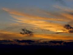 Kleurige wolken  na een wispelturige storm dag. #buienradar