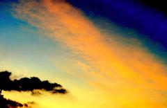 Fraaie kleuring bij zonsopkomst #buienradar
