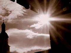 Zon doorbreekt de wolken op Maandagmiddag. #buienradar