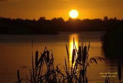 Op deze Zaterdag 5 September,een mooie heldere Zonsopkomst! #buienradar