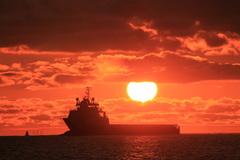 just another sunset (Den Helder 29-7-2014) #Zon #buienradar